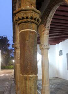 Arcos del palacio de los Zapata en Llerena