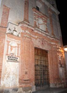 Fachada del hospital de San Juan de Dios en Llerena
