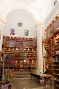 Biblioteca municipal en el Hospital de San Juan de Dios en Llerena