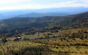 Estribaciones de Sierra Morena en Badajoz