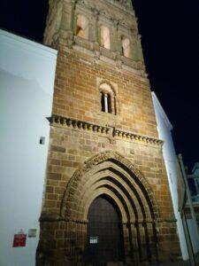 Torre de la iglesia de Nuestra Señora de Granada en Llerena