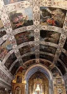 Frescos ermita Virgen del Ara