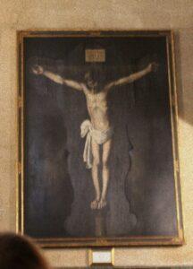 Cristo crucificado de Zurbarán