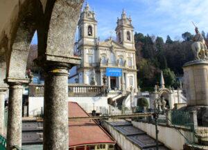 Santuario y funicular de Bon Jesus do Monte