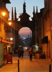 Arco de la Puerta Nueva en Braga