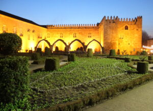 Jardín de Santa Bárbara en Braga