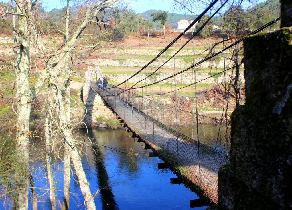 Puentes colgantes en Portugal