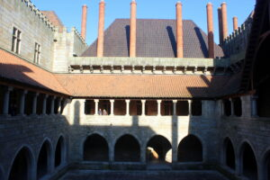 Claustro del palacio de Guimaraes