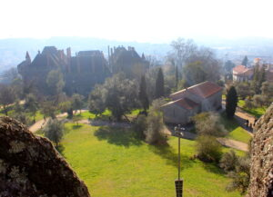 Vistas desde el castillo de Guimaraes