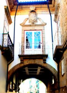 Palacio de la calle Santa María en Guimaraes
