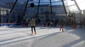 Patinar sobre hielo en Braganza