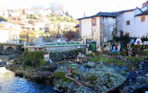Paseo del río Fervenza en Braganza