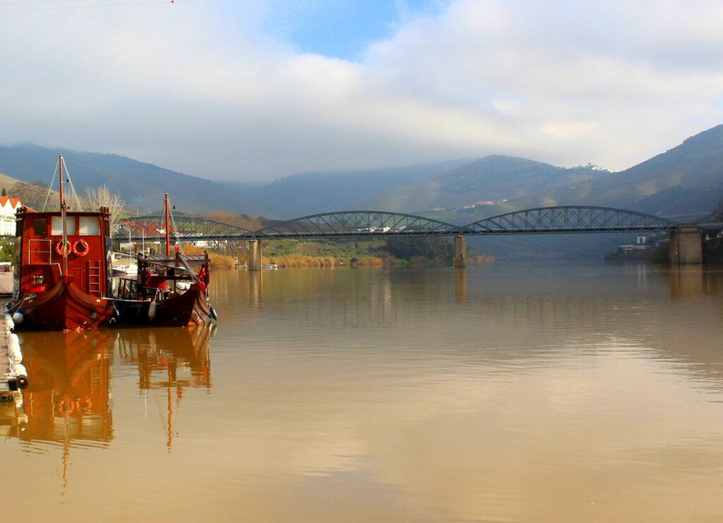 Rabelos en el río Duero