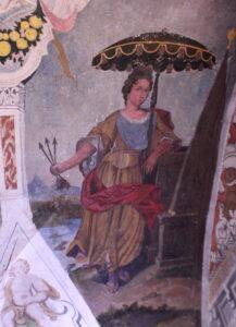 Frescos de la ermita Virgen del Ara