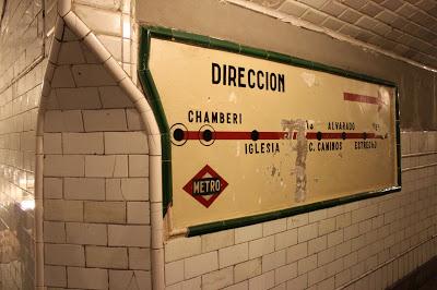 Estación antigua de Metro