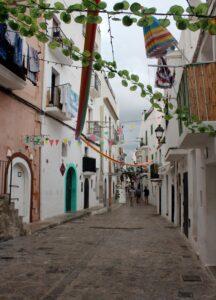 Barrio de San Penya en Ibiza