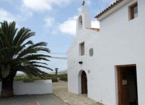 Iglesia de Sant Frances de l'Estany en Ibiza