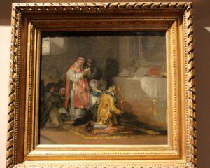 Escena de los disciplinates de Goya