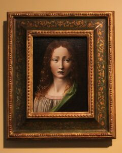 Obra atribuida a Leonardo da Vinci