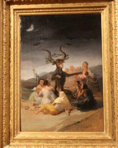 El Aquelarre de Goya