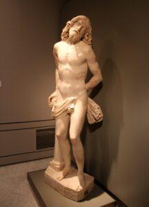 Escultura de cristo en el Museo Lázaro Galdiano