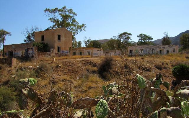 Rodalquilar antiguo pueblo minero