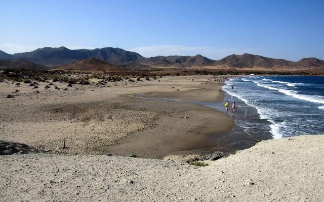 Playa de los Genoveses . Playas de Cabo de Gata