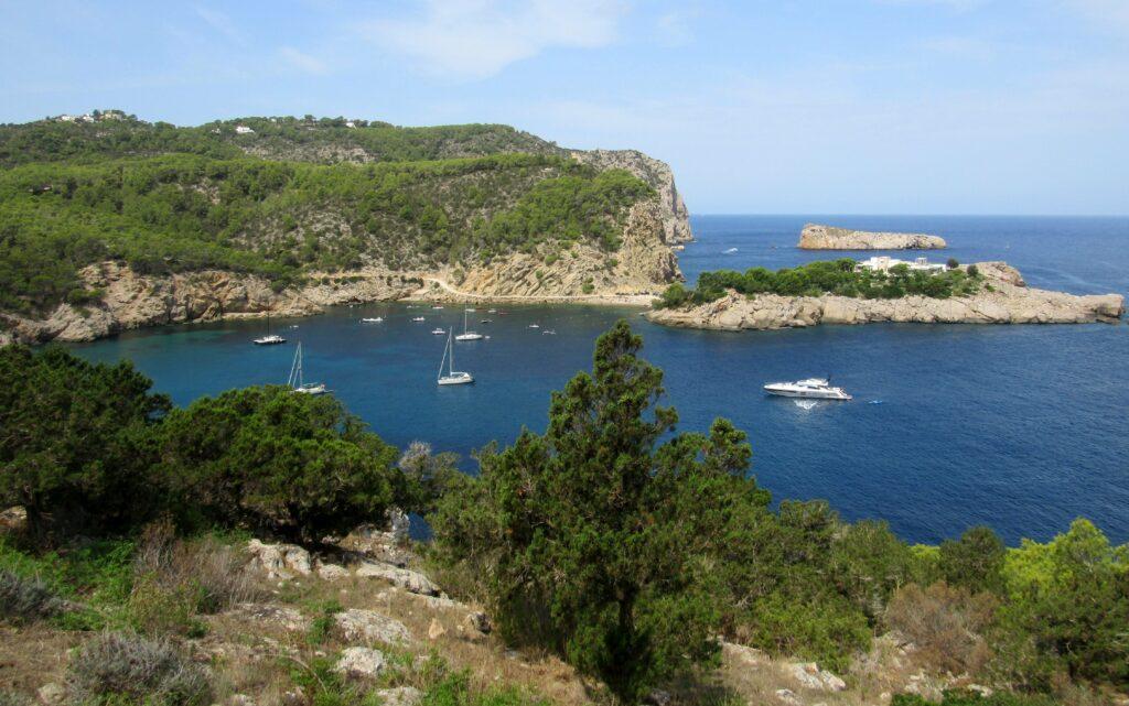 Puerto de San Miguel en Ibiza