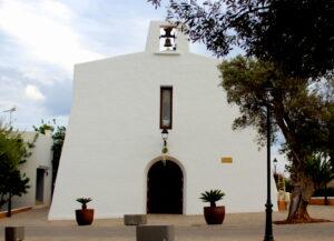 Iglesia de Es Cubels en Ibiza