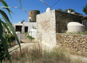 Poblado y torre de Belafia en Ibiza