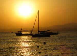 Puestas de sol en La Azohía