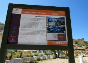 Cartel de la Almadraba en La Azohía