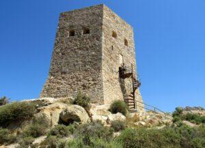 Torre de Santa Elena en La Azohía