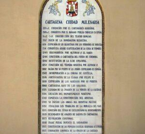Historia resumida de Cartagena