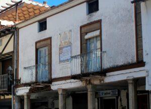 Casa donde pernoctó Alfonso XIII en Las Hurdes