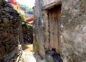 Casas de pizarra en Las Hurdes