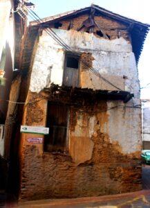 Casas típicas de Casar de Palomeros