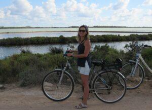 En bicicleta por Formentera
