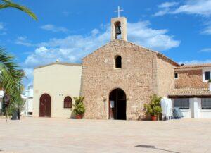 Iglesia de Sant Ferran de Ses Roques en Formentera