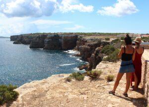 Acantilados de Punta Prima Formentera