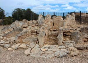 Conjunto megalítico Ca na Costa en Formentera