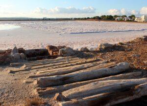 Mares de sal en Formentera
