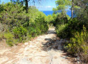 Calzada romana de Formentera