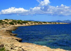 Caló de s'Oli en Formentera