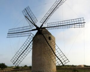 Molino Vejo de la Mola en Formentera
