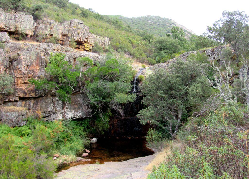 Segunda cascada de la Garrganta de las Lanchas