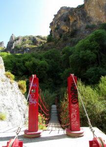 Puentes colgantes Cahorros