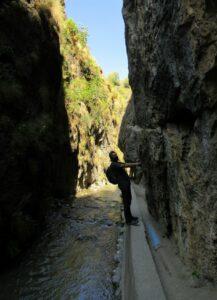 Ruta por el río Monachil