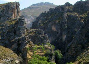 Ruta los Cahorros en Monachil