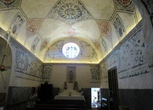 Pinturas de la iglesia de Sant Miquel de Balansat en Ibiza